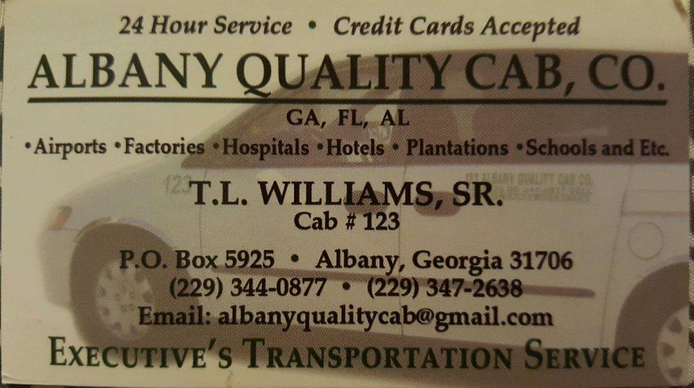 Albany Quality Cab Co: Albany, GA