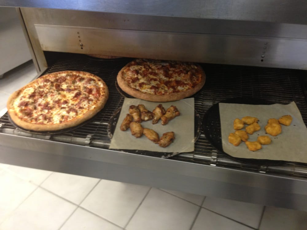 Fresh pizzas wings and chicken poppers yelp - Papa john s pizza garden fresh pizza ...