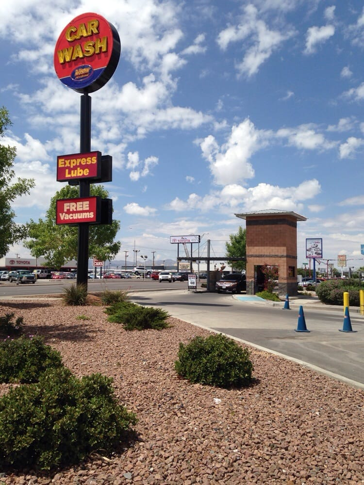 Mister Car Wash Montana El Paso Tx