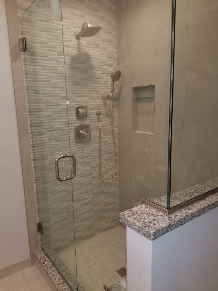Arlington heights master bathroom remodel baths by envy yelp for Bathroom remodeling arlington heights il