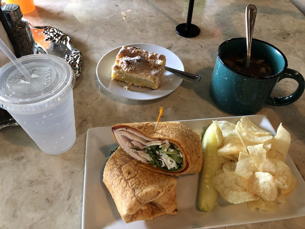Food from Miss Lucille's Café
