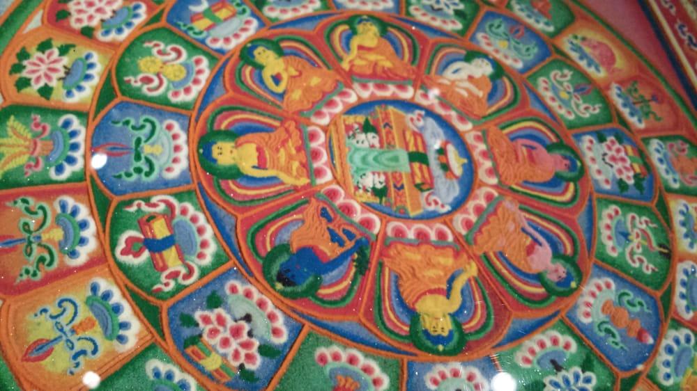 A bit of Mandala   Great story about keeping it intact  - Yelp