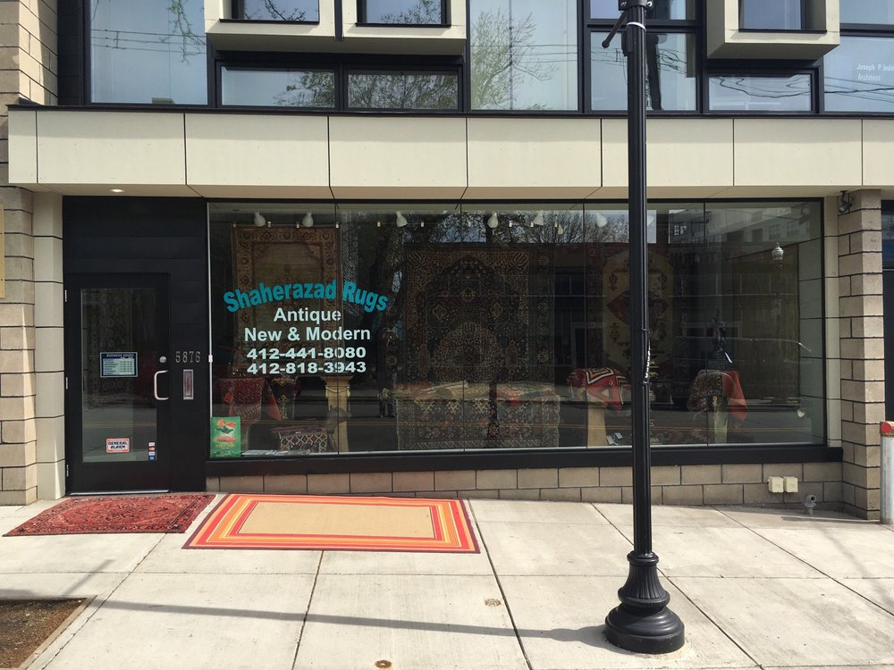 Shaherazad Rugs Closed 10 Photos Antiques 5876 Ellsworth Ave Shadyside Pittsburgh Pa Phone Number Yelp