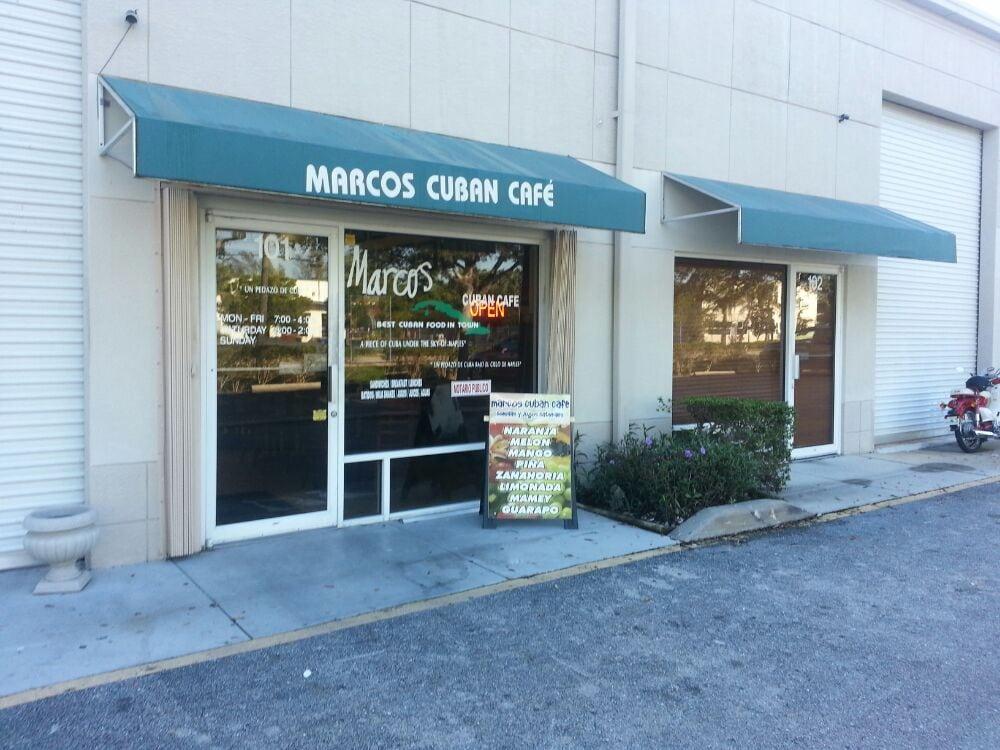 Marcos Island Cuban Cafe
