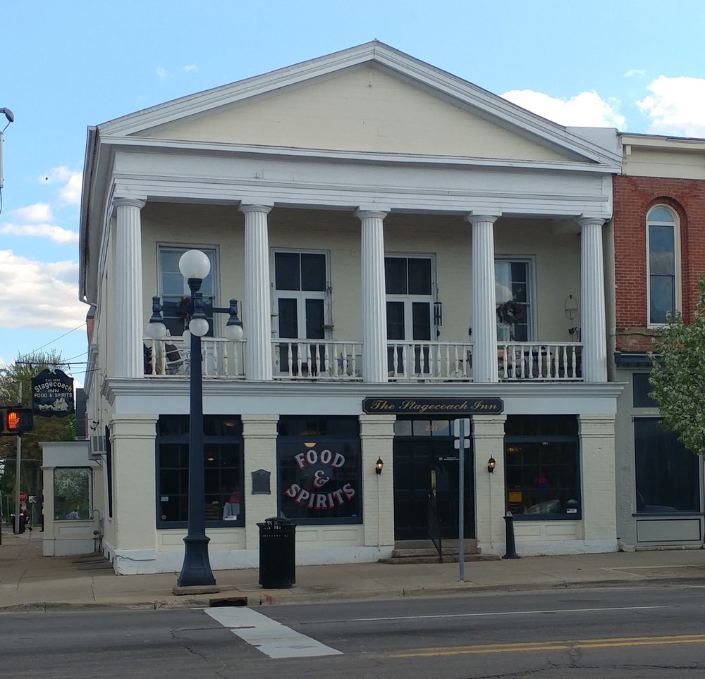 Stagecoach Inn: 201 W Michigan Ave, Marshall, MI