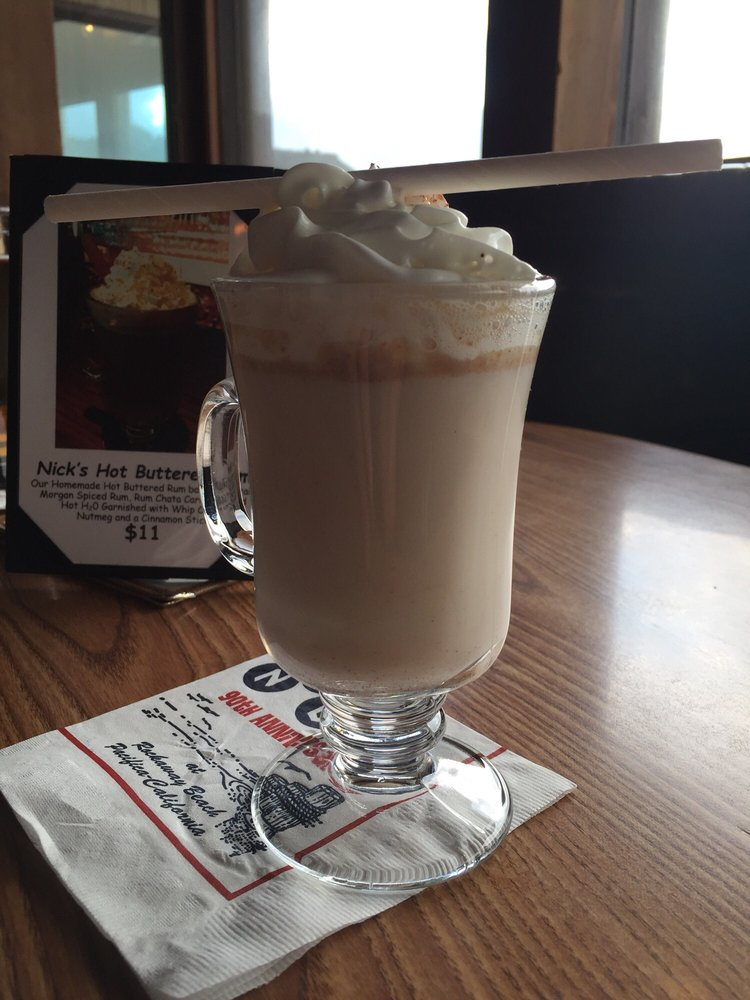 Nick\'s Hot Buttered Rum ($11) takes an unnecessary \