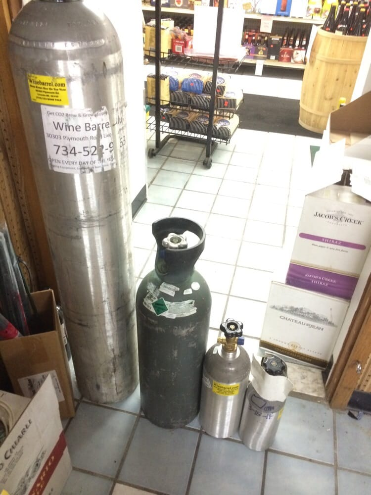We sell and refill co2 tanks of all sizes  - Yelp