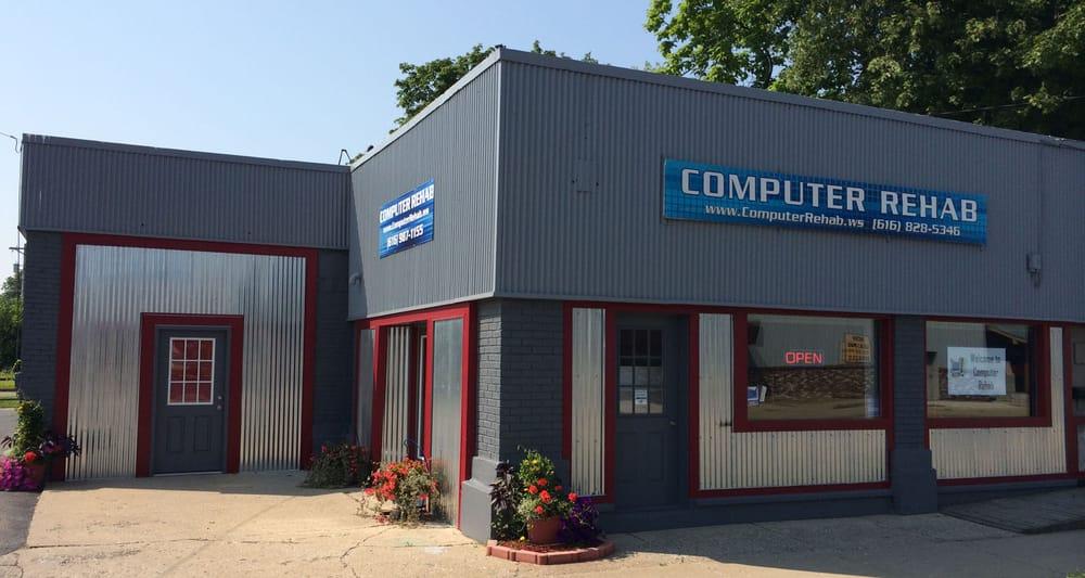 Computer Rehab: 508 W Main St, Lowell, MI