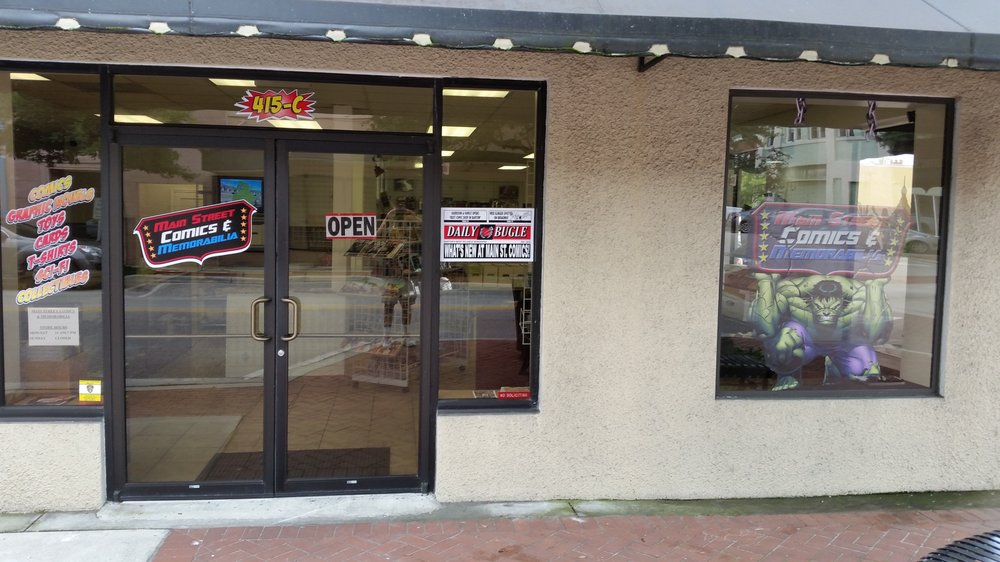 Main Street Comics & Memorabilia: 415 E Main St, Bartow, FL