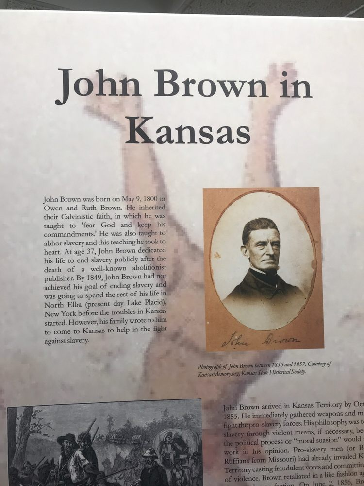 John Brown's Cave & Historical Village: 2012 4th Corso, Nebraska City, NE