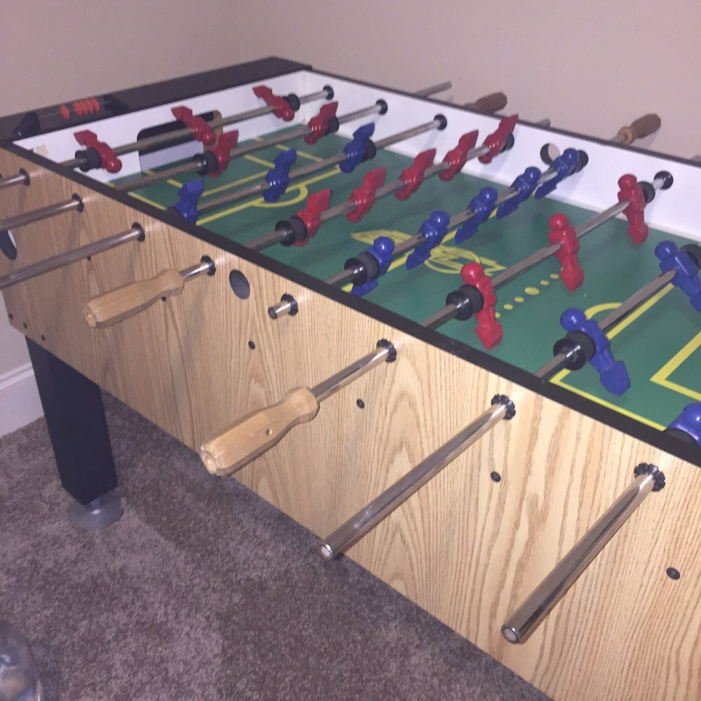 Another Find Its A Vintage Dynamo Foosball Table Yelp - Foosball table houston