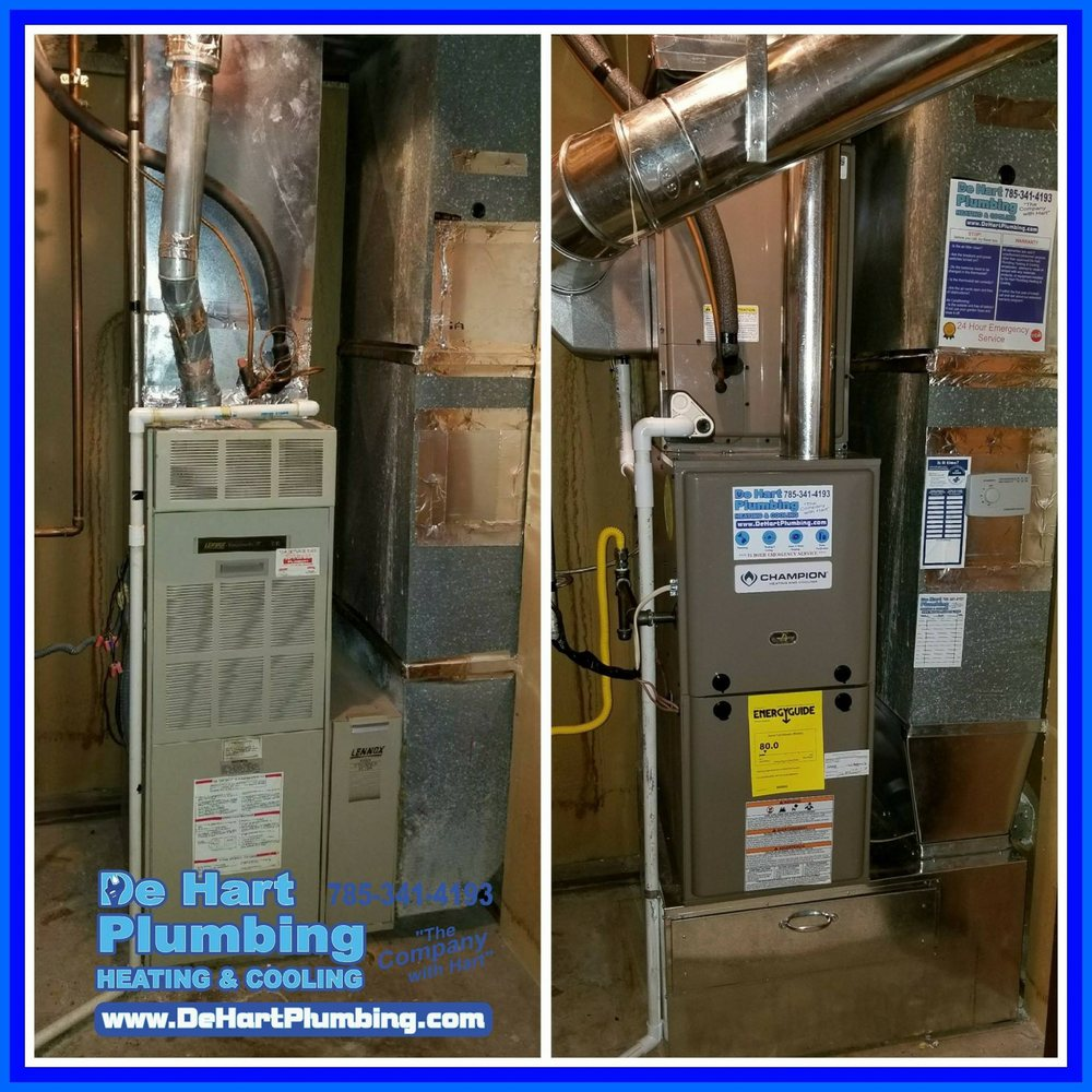 DeHart Plumbing Heating & Cooling: 1723 Fair Ln, Manhattan, KS