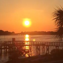 Photo Of Beach Front Motel Cedar Key Fl United States The View
