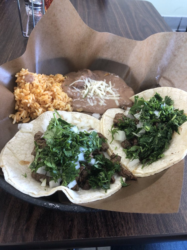 Food from Taco Shop