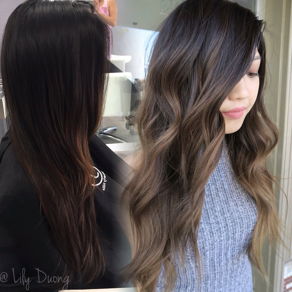 From Grown Out Balayage Highlights To Ashy Brown Ombre Balayage Yelp