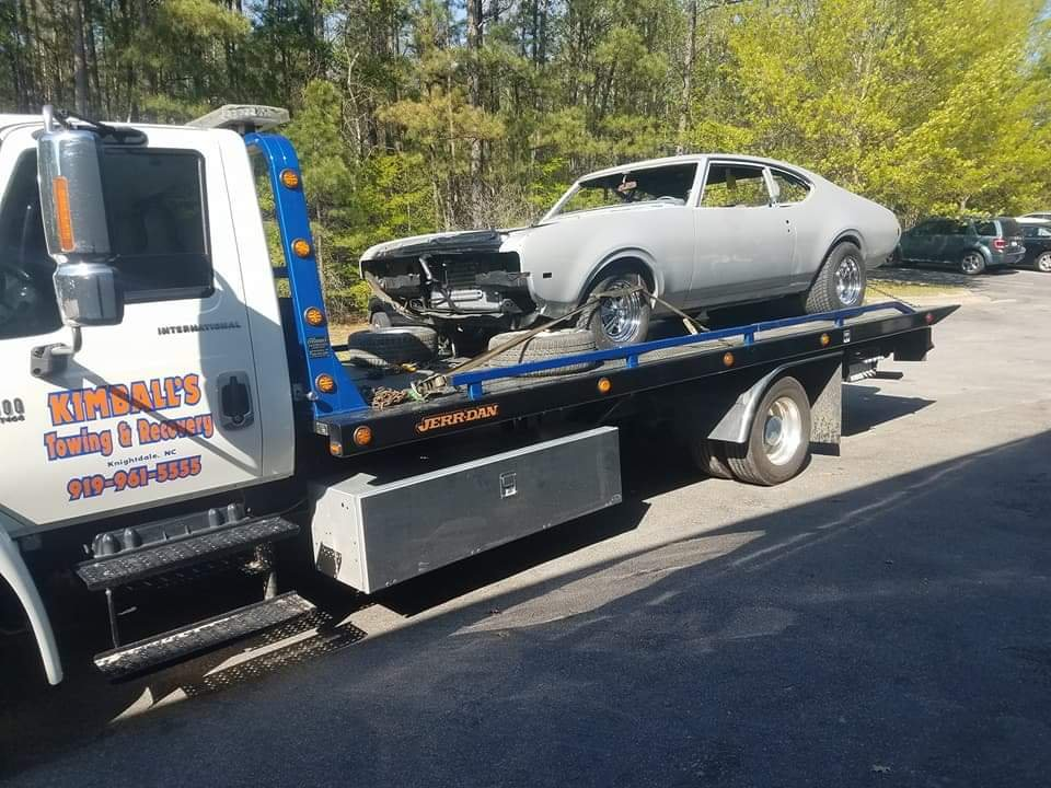 Towing business in Knightdale, NC