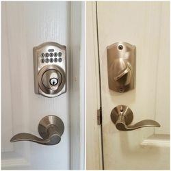 Photo of Darrellu0027s Locksmith - Sarasota FL United States. Schlage keypad deadbolt with & Darrellu0027s Locksmith - 42 Reviews - Keys u0026 Locksmiths - 4432 Parnell ...