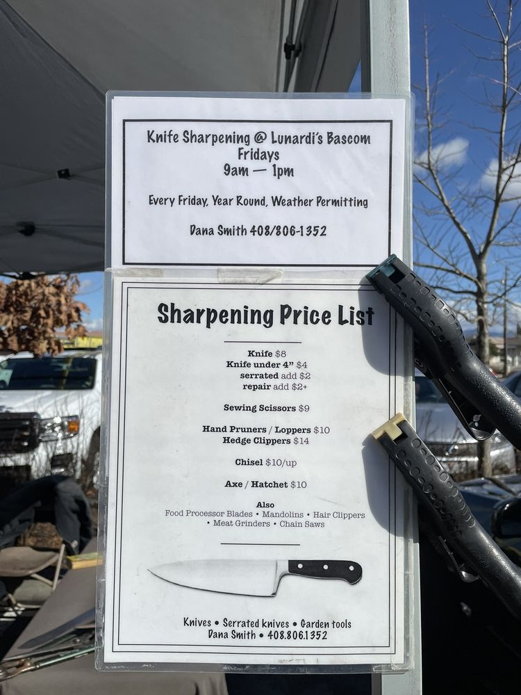 Sharpen While You Shop: 2666 S Bascom Ave, San Jose, CA