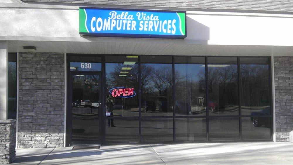Bella Vista Computer Services: 630 W Lancashire Blvd, Bella Vista, AR