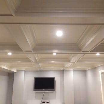 Quality woodwork installations cabinetry 2320 portal for Box beam ceiling
