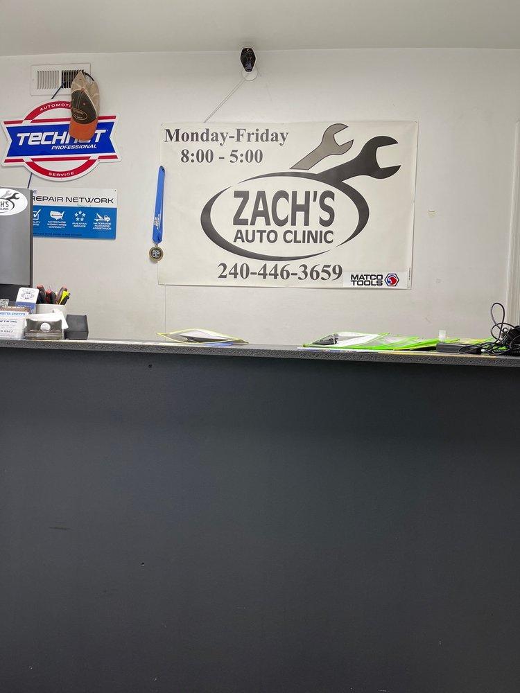 Zach's Auto Clinic: 5733 Buckeystown Pike, Frederick, MD