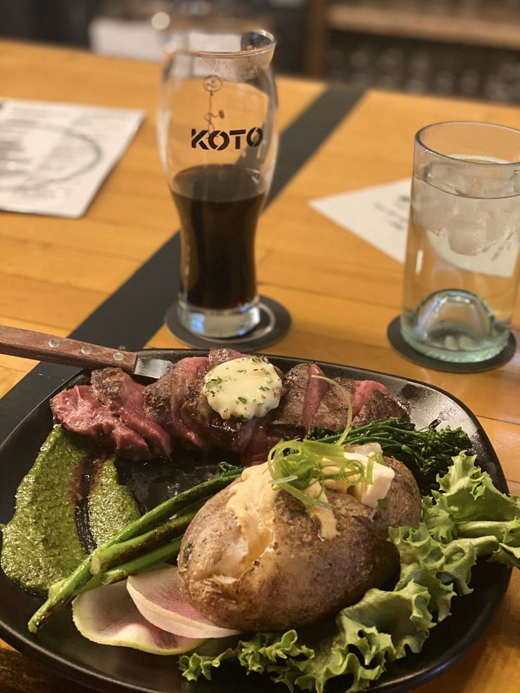 Food from Koto Brewing Company