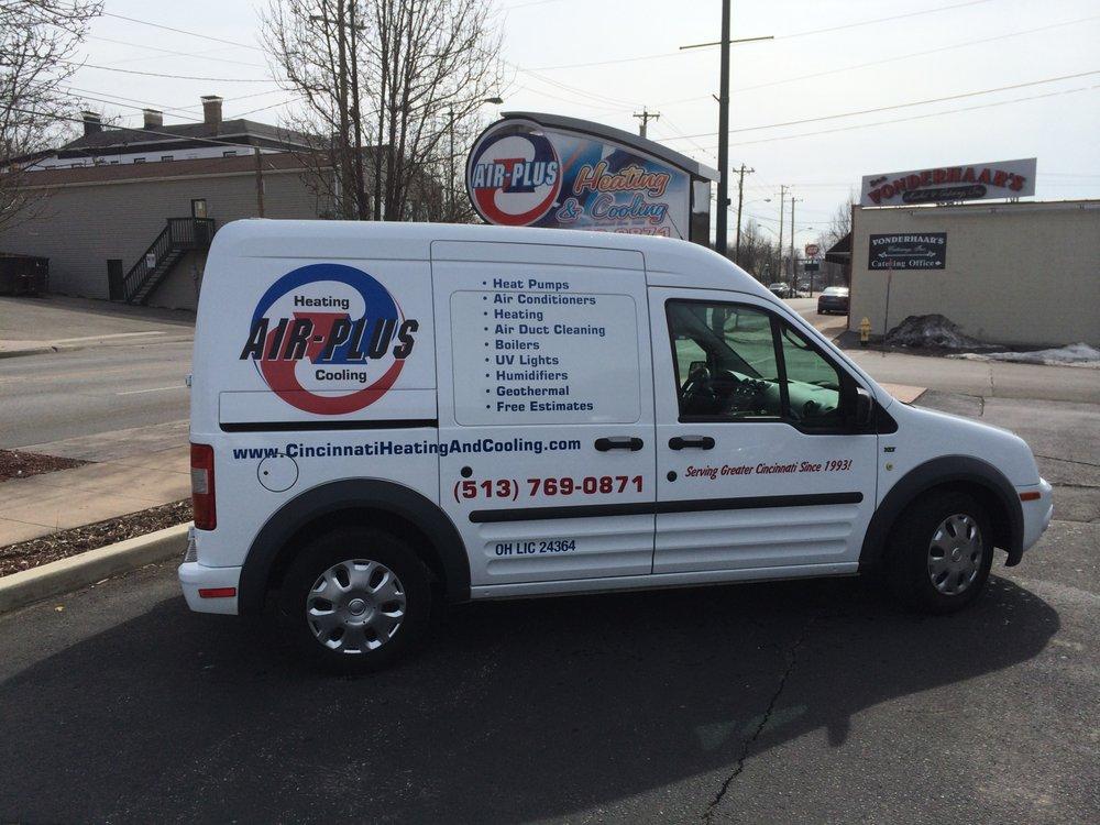 Air-plus Heating & Cooling: 9301 Reading Rd, Cincinnati, OH