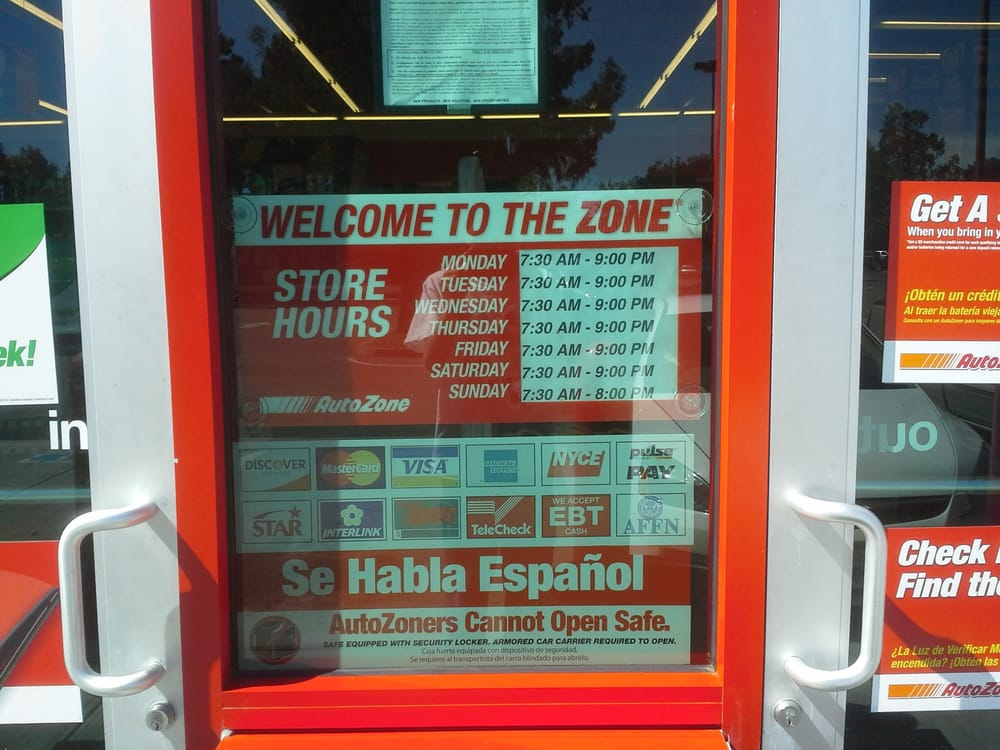 Auto Zone Business Hours, Rosemont Square Shopping Center, Newark ...