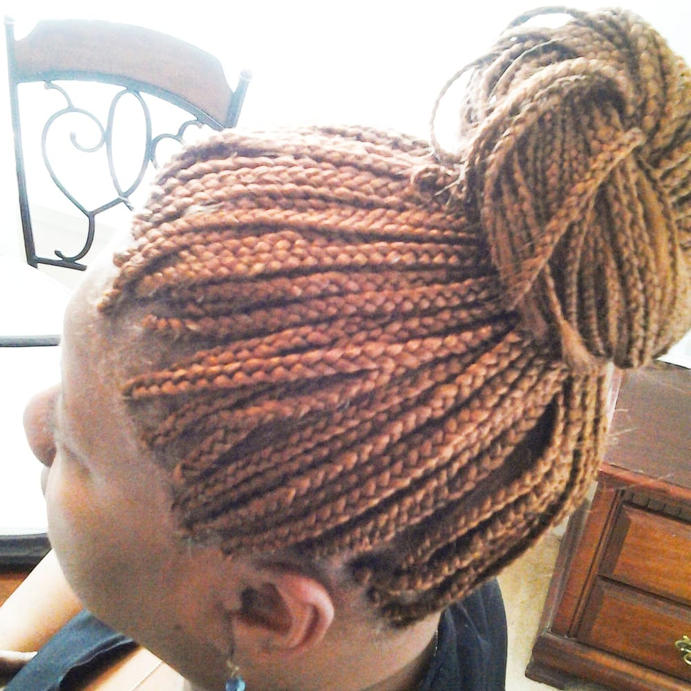 Small Box Braids Middle Of The Back Great Price Yelp