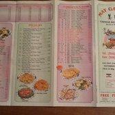 Dynasty Chinese Restaurant Menu Southbridge Ma
