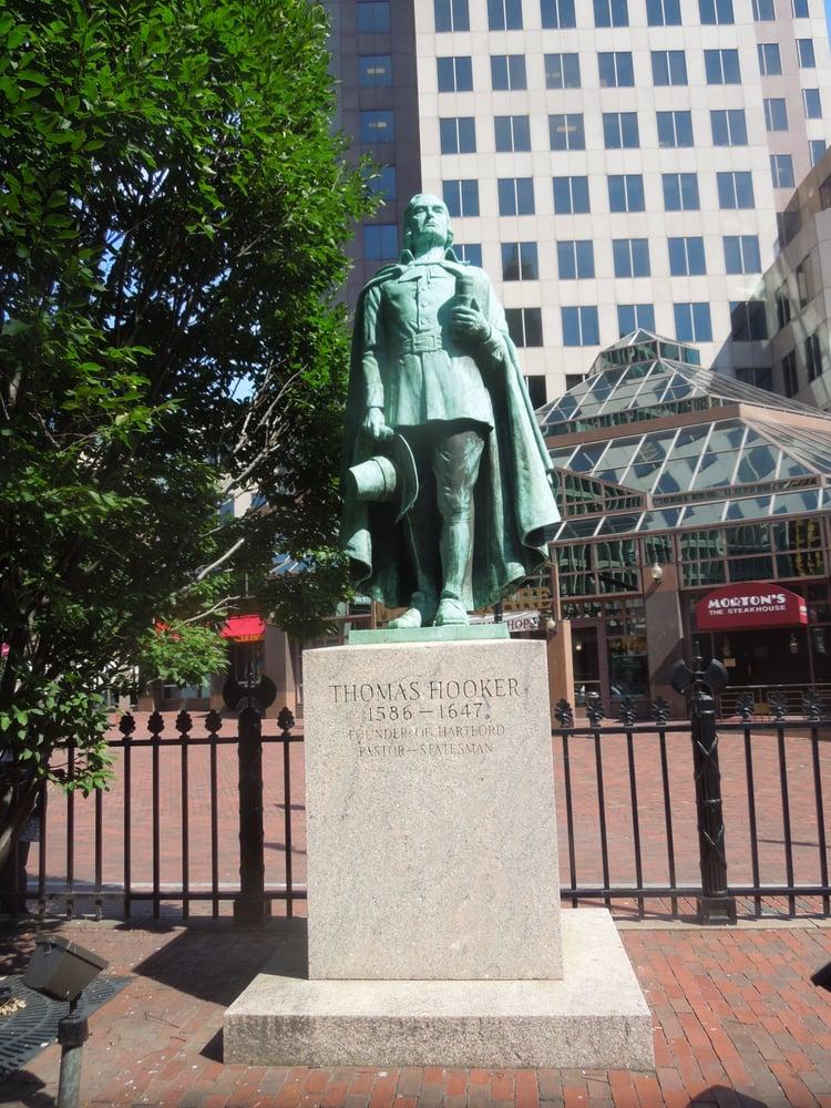 Thomas Hooker Statue - Landmarks & Historical Buildings ...