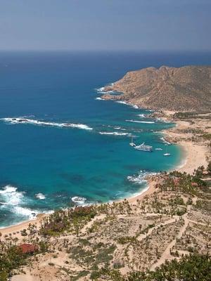 Photo Of Chileno Beach Los Cabos Baja California Sur Mexico Aerial View