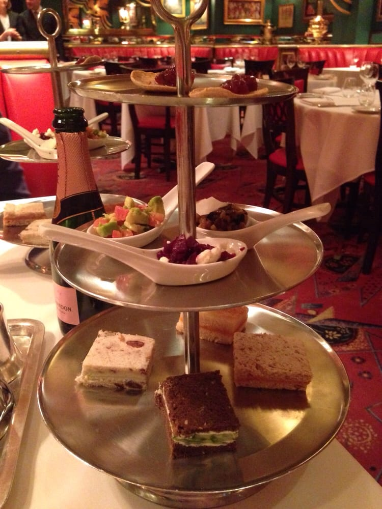 Russian Tea Room High Tea Reviews
