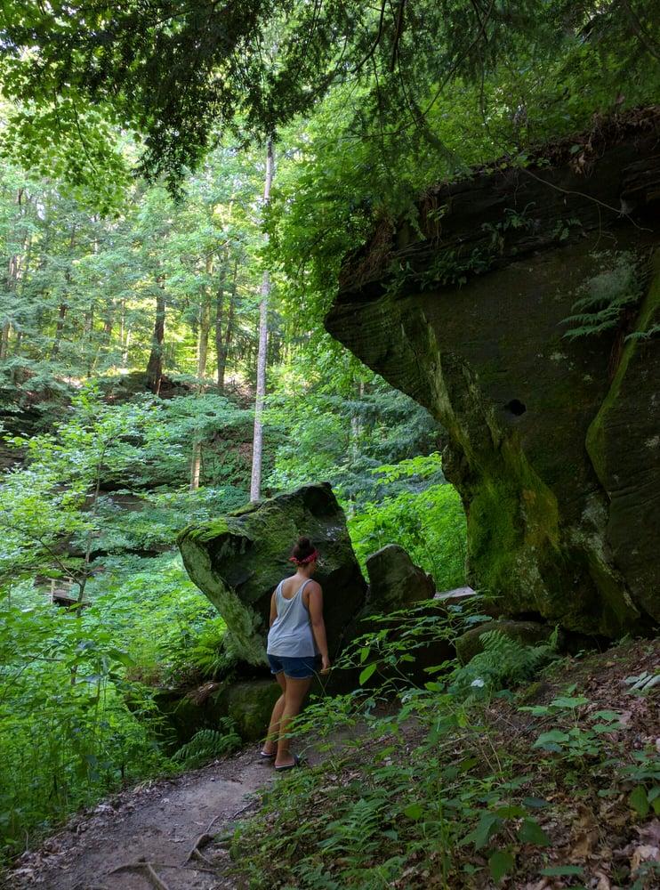 Turkey Run State Park: Marshall, IN