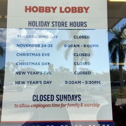 photo of hobby lobby naples fl united states the christmas hours - Hobby Lobby Christmas Eve Hours