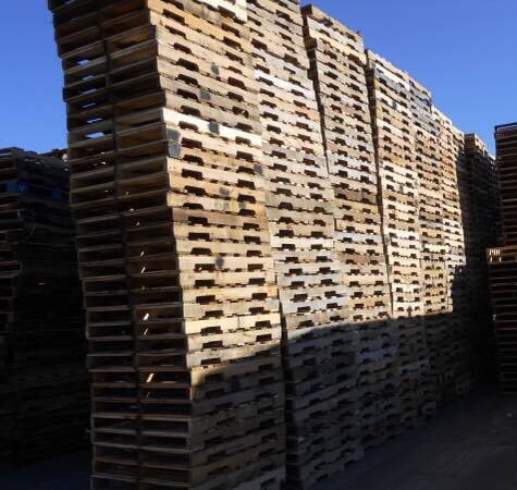 Buy, sell, repair wooden pallets. Pick-up and delivery is ...