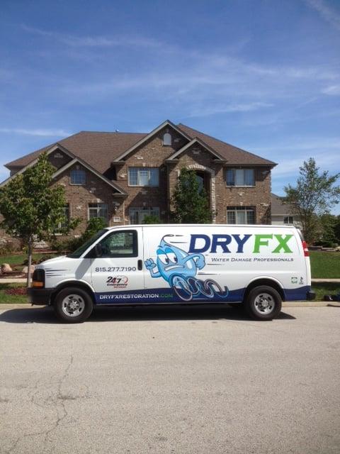 Dry FX Restoration: 966 Lambrecht Rd, Frankfort, IL