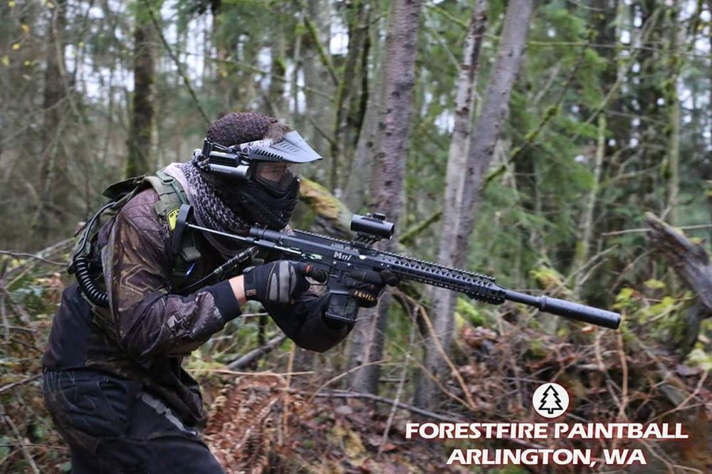 ForestFire Paintball: 17022 Burn Rd, Arlington, WA