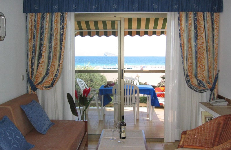 Apartamentos María Cristina Beach: Avenida Vicente Llorca Alos, 18, Benidorm, V