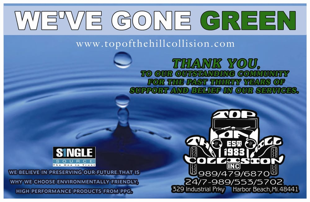 Top of the Hill Collision: 329 Industrial Dr, Harbor Beach, MI