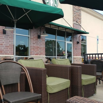 Photo Of Starbucks   Indianapolis, IN, United States. Outside Patio Is  Perfect For