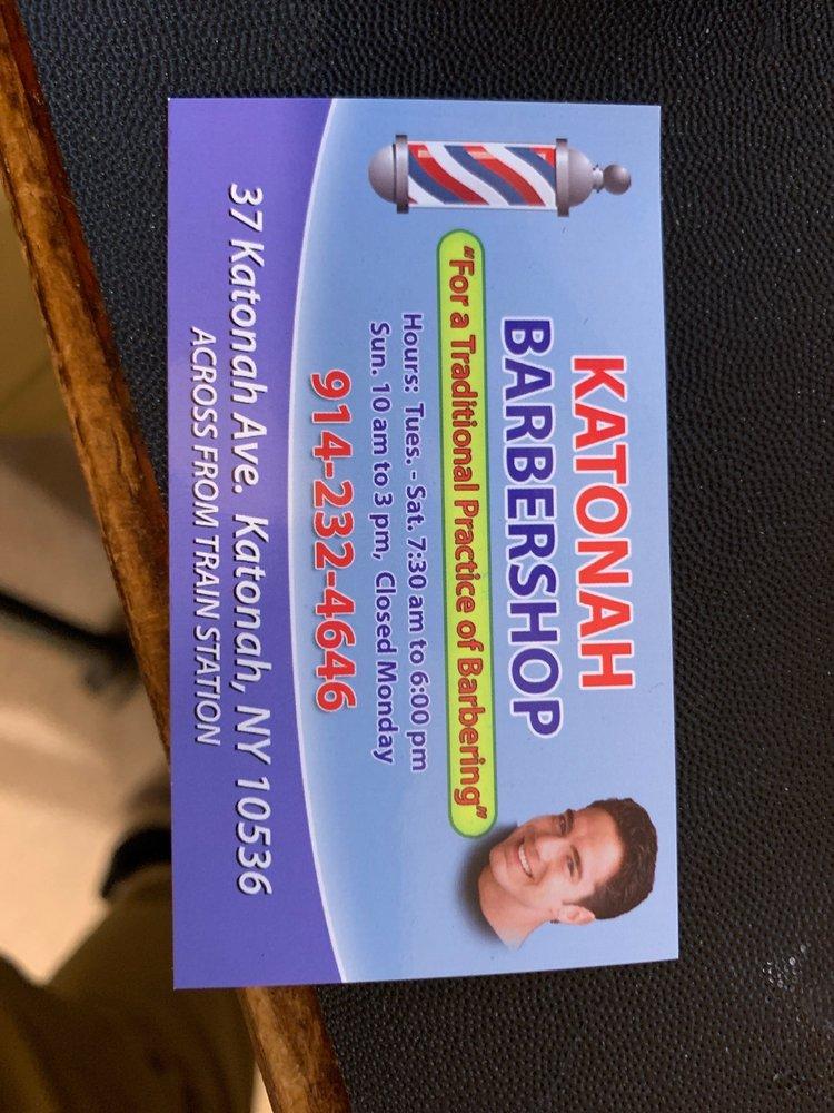 Katonah Barber Shop: 37 Katonah Ave, Katonah, NY