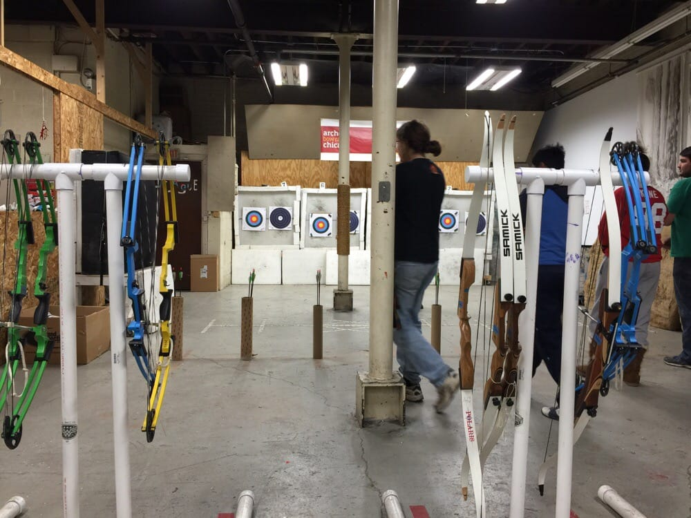 Archery Bow Range Chicago: 1757 N Kimball Ave, Chicago, IL