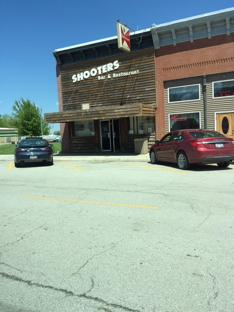 Shooters Bar and Restaurant: 114 W State St, Lovington, IL