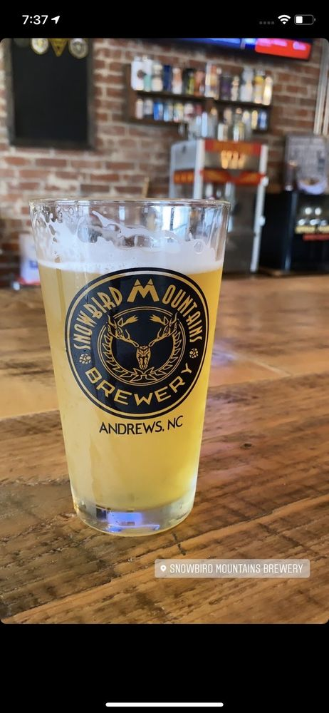 Snowbird Mountains Brewery: 378 Locust St, Andrews, NC