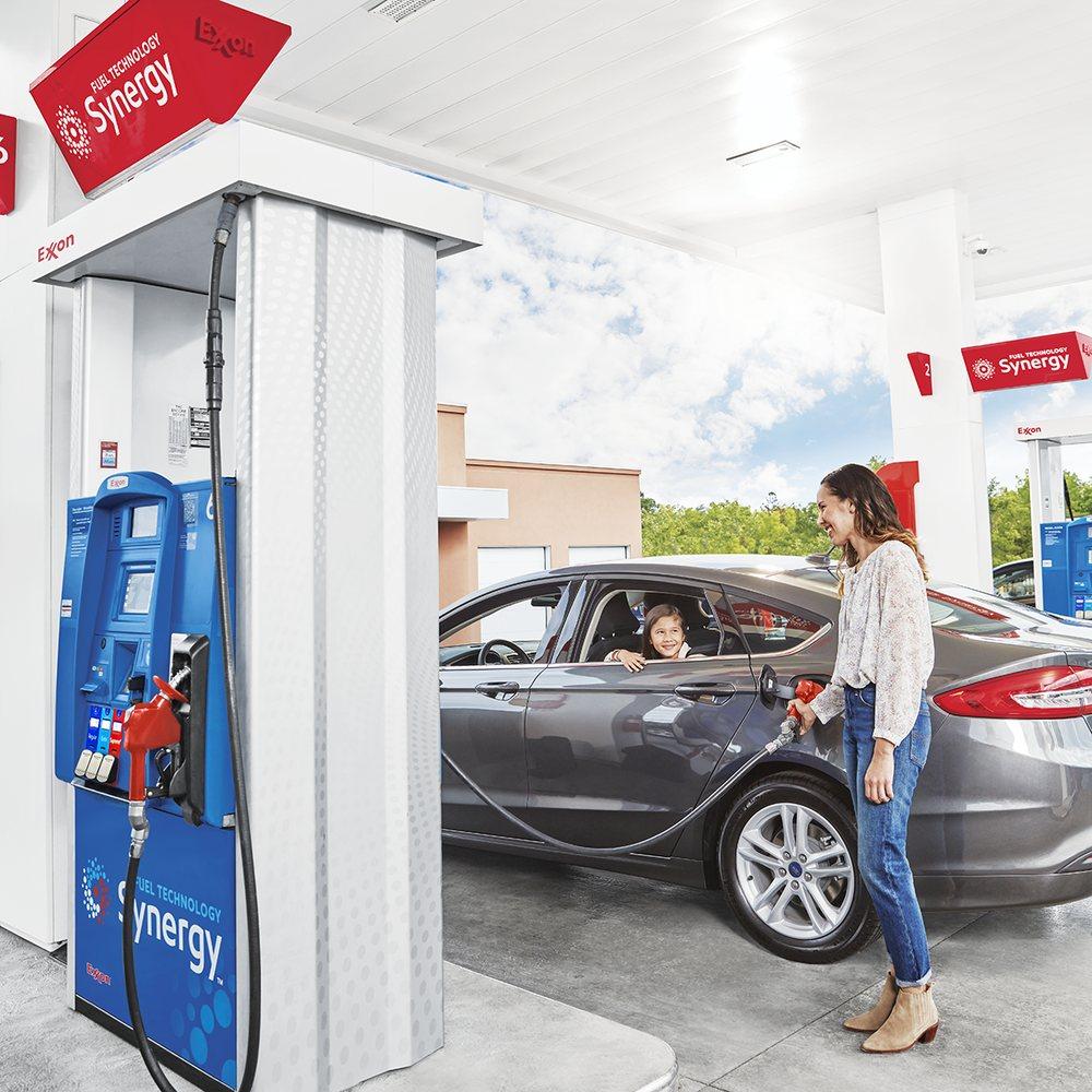 Exxon: 8965 Village Shops Dr, Lorton, VA