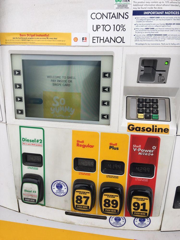 Shell: 615 Poso, Maricopa, CA
