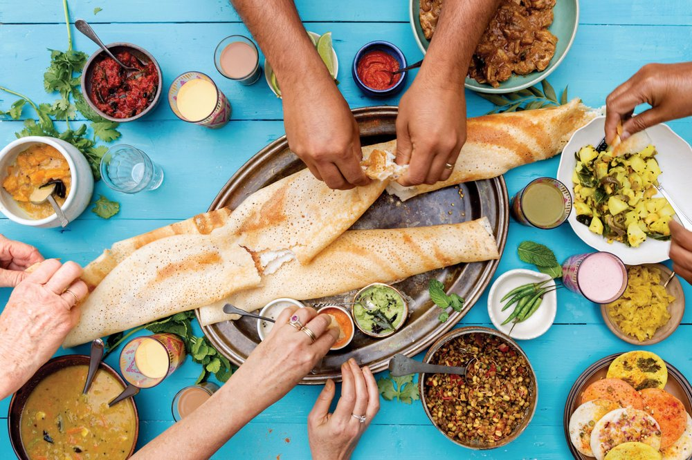Food from Dosa Kitchen