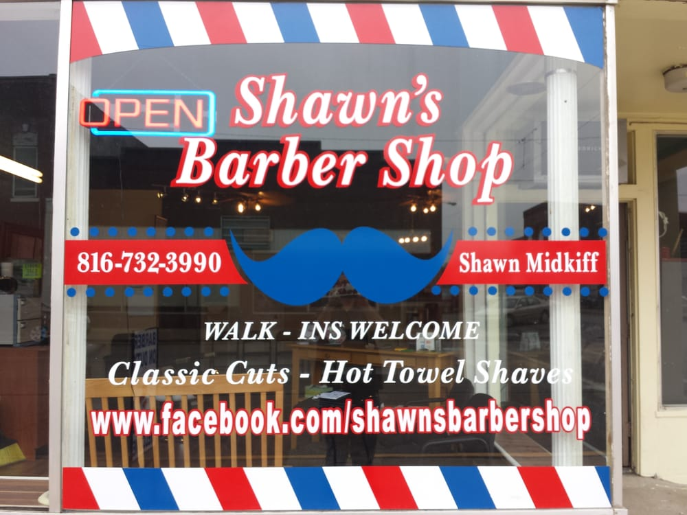 Shawn's Barber Shop: 200 W 2nd St, Holden, MO