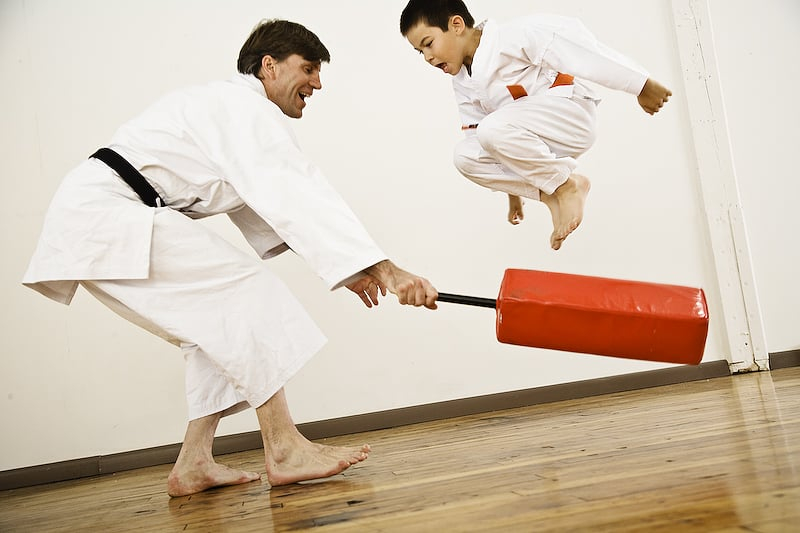how to get good at karate